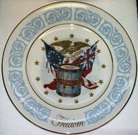 Vtg. AVON Collectors 1974 FREEDOM Plate Enoch Wedgwood China