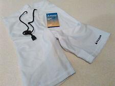 "Vulkan Sports Lycra Under Shorts White Small 30/32"" Waist Support Multisport"