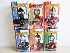 Ultraman Heroes GAIA AGUL TIGA NICE DARK Figure Soft Vinyl All 6 Complete Set