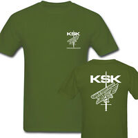 Germany KSK Army Green Men's Short Sleeve T Shirts Size S-3XL
