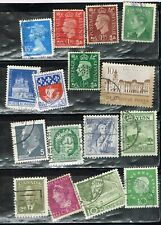 (13-014) 64 Assorted Cancelled Worldwide  Postage sTamps