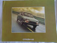 Citroen GS brochure Aug 1973