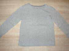 Langarmshirt Pullover grau H&M 122 128 unifarben