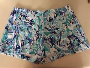 Lilly Pulitzer NWT Marina Knit Short Elephant Appeal XL Free Shipping