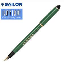 "Sailor Calligraphy ""Fude DE Mannen Green Fine ~ Broad nib 11-0127-767 Pen FP"