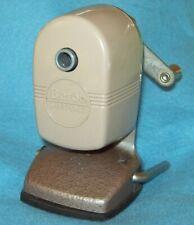 Vintage BEROL 1 hole Pencil Sharpener Vacuum Mount OLD SCHOOL STYLE
