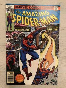 Amazing Spider-Man 167 (1977) 1st app of Will O' the Wisp. Marvel