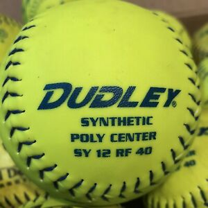 Softballs - Lot of 23 Assorted - Trump, Dudley, Gold Dot -Used