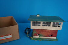Marklin 456 Signal House Tin Plate with Whistle OVP Stellwerk