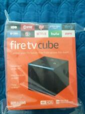 BRAND NEW Amazon Fire TV Cube Alexa Remote 4K WORLDWIDE SHIPPING 1ST GENERATION