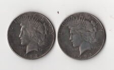 Magic Trick Coin Two Face Toned Peace Dollar 1928 Two heads Novelty Fantasy