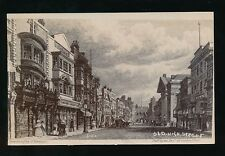 Hampshire SOUTAMPTON Old High St from an engraving c1900/20s? PPC