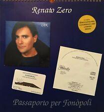 RENATO ZERO - PASSAPORTO PER FONOPOLI