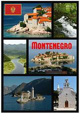 MONTENEGRO - RECUERDO ORIGINAL Imán de NEVERA - MONUMENTOS/Ciudades - Regalo -