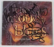 "THE MOODY BLUES Signed Autograph ""Highlights From Time Traveller"" CD by All 4"