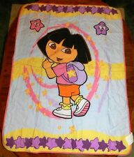 "Quilt Dora the Explorer size 42 x 58"" New"