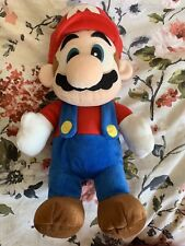 """RARE! Nintendo 1998 BD&A 14"""" Talking Mario Plush"""