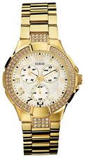 GUESS Runde Armbanduhren aus Edelstahl für Damen