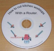 How to cut kitchen worktops with a Router & Jig DVD, + Free DVD on Router uses