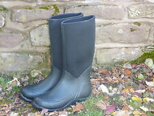 NEOPRENE 5mm WELLINGTON BOOTS,MEN'S UK10, 100% waterpoof, HALF PRICE!!