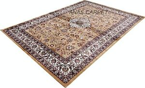 INDIEN TRADITIONAL HANDMADE EMBOSSED CARPET FOR HOME DECOR, 6 X 9 FEET