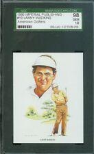 1990 IMPERIAL PUBLISHING # 19 LANNY WADKINS SGC-10 SOLO FINEST GRADED.