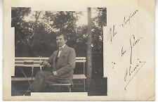Photo ancienne un souvenir de ton frère pour Mariette à Commercy  1930
