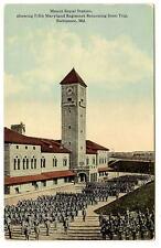 BALTIMORE MD Mount Royal Station 5th Regiment Army Vtg