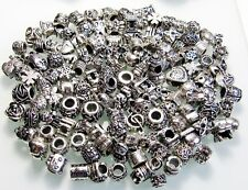20 schöne Beads - Modul Elemente für Bead Armband - Kette * Antik Silber Spacer