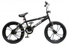 """XN-4-20 BMX Bike Mens Boys Freestyle BMX 20"""" MAG Wheel Gyro Black White Adult"""