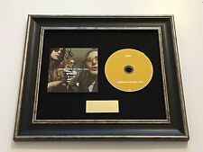 SIGNED/AUTOGRAPHED HAIM - SOMETHING TO TELL YOU FRAMED CD PRESENTATION. RARE
