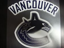 Vancouver Canucks Colored Window Die Cut Decal Wincraft Sticker 8x8 NHL