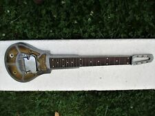National Lap Steel Guitar, 1936, Metal, Body Only