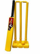 Cricket Kwik Set adult indoor outdoor plastic ball stumps kit complete case