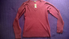 Brand New with Tags smart purple V neck jumper work casual