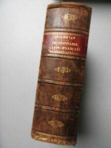 dictionnaire latin français - Quicherat 1863