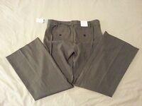 Womens New NWT GAP Maternity Pants 2 Gray Cotton