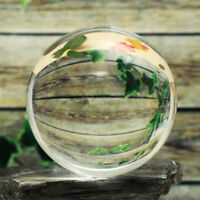 Clear Crystal Ball Sphere Decoration Photography Lens Photo Prop Lensball 60mm