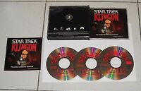 Gioco Pc Cd STAR TREK KLINGON The Ultimate interactive adventure - 3 Cd Rom 1996