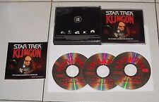 Gioco Pc Cd STAR TREK KLINGON The Ultimate interactive adventure - 3 Cd Rom 1996