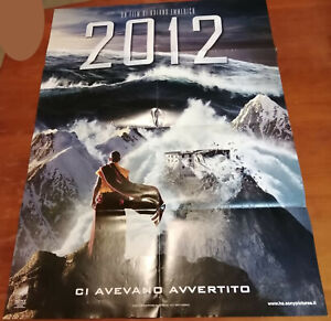 2012 Locandina Copertina Piegata Dvd 100x70cm Poster N