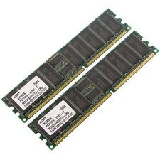 Samsung DDR-RAM 1GB-Kit 2x512MB PC2100R ECC CL2.5 - M312L6420ETS-CB0