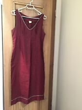 Vintage Red & Silver Dress by Lucie
