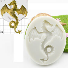 DRAGON Silicone Fondant Cake Topper Mold Mould Chocolate Sugarcraft Baking Tool