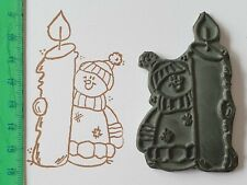 Motivstempel Weihnachten/Winter, LeLo Design, Schnemann,  RAR!