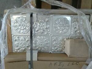 Gorgeous Brand New Tin Ceiling Tiles Panels 960 SQ ft. Wall too. Amazing Price!!