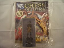 Eaglemoss DC Figurine Chess Collection Man-Bat black rook with Magazine 24