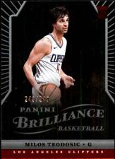 2017-18 Chronicles Panini Brilliance #369 Milos Teodosic RC 249/249