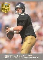 1991 Fleer Ultra Draft Picks Brett Favre Rookie Card RC #283