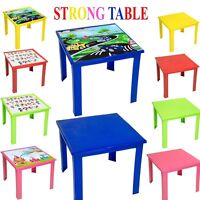Kids Children Plastic Table Strong High Quality Foldable Suitable For Outdoor